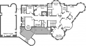 Floor Plan of the Second Floor